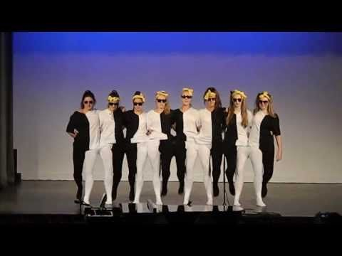 ▶ IGGS - YR 12 Black and White tights dance - 2013 - YouTube