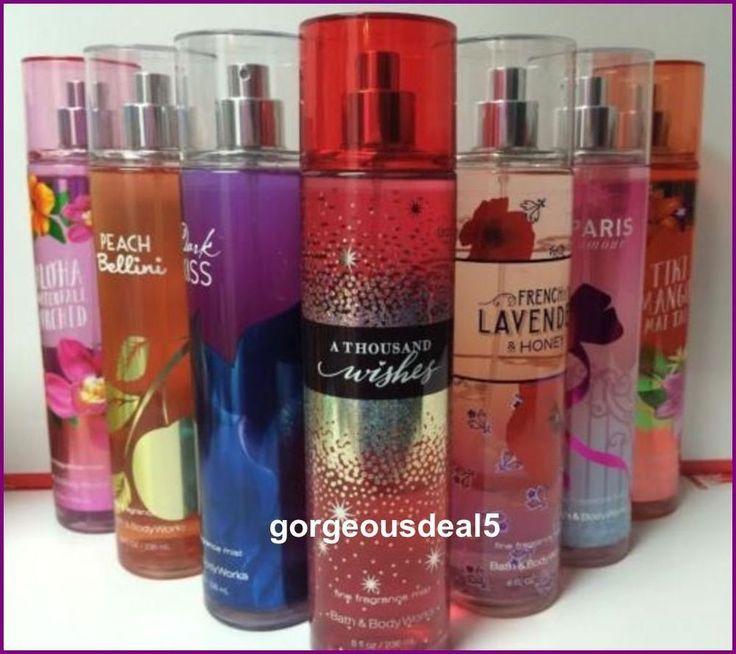 Bath and Body Works Fine Fragrance Mist 8 fl oz U Choose NEW  | eBay