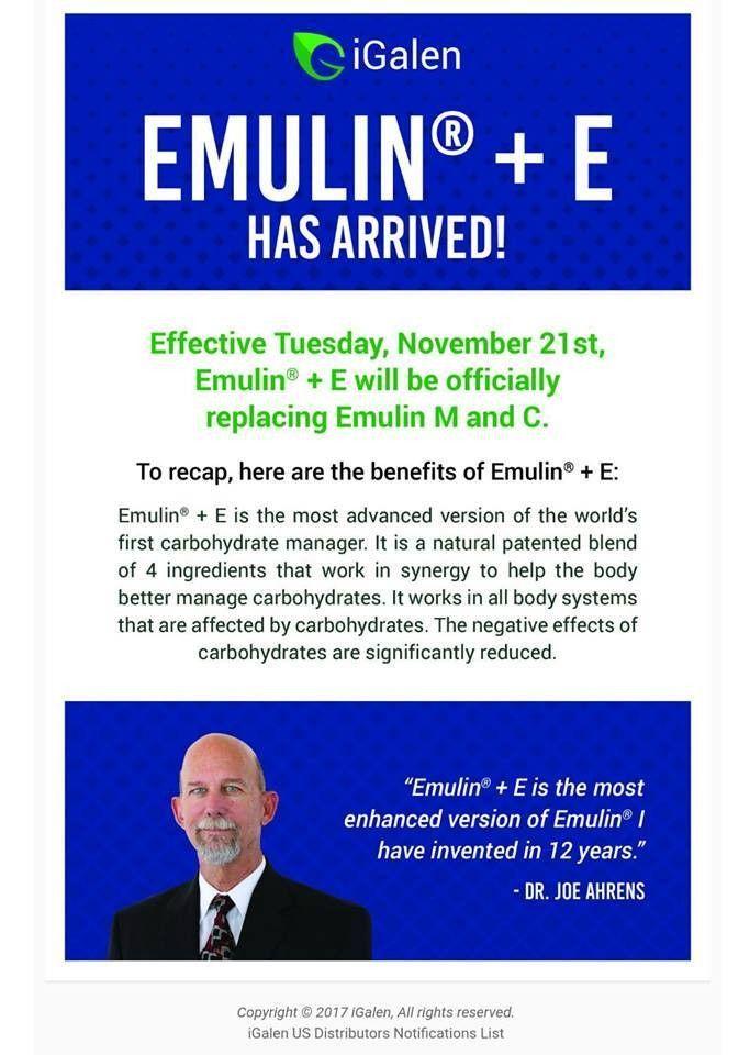Emulin+ E has arrived