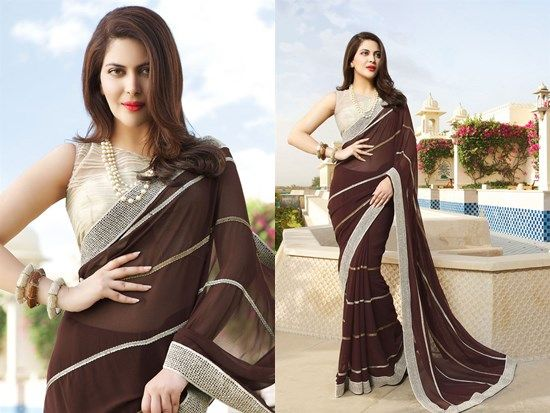 Designer Blouse Designs Along With Elegant Saree