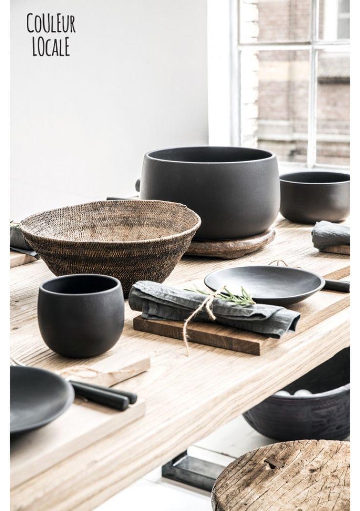 Black Ceramics by Nelson Sepulveda - Kitchen - Home Accessories