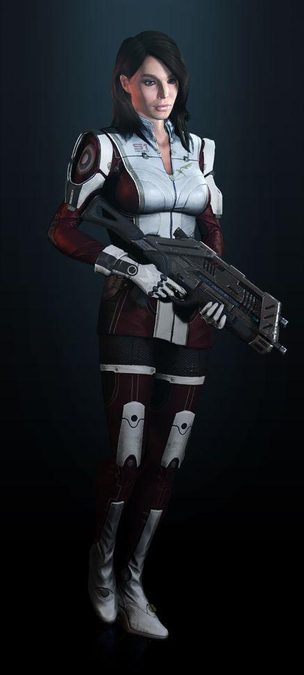 Ashley, Mass Effect 3