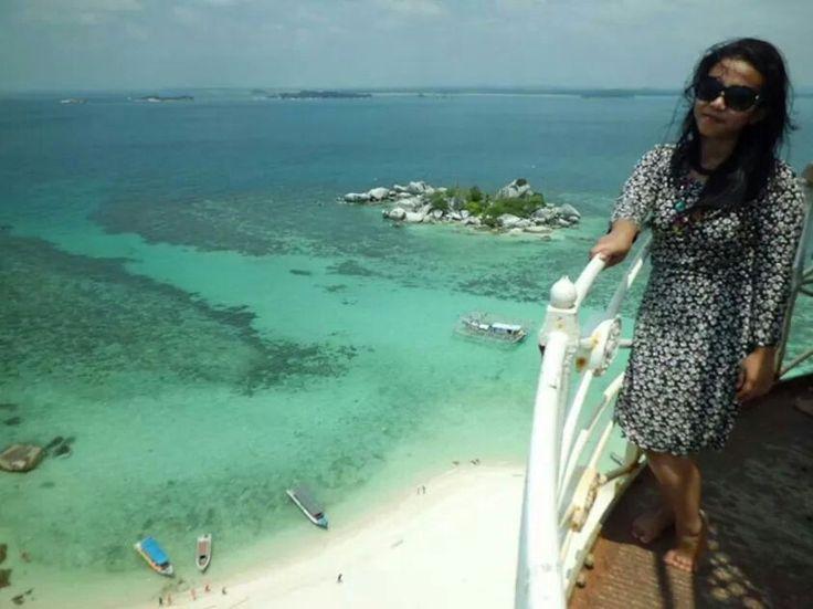 @mercusuar in lengkuas island #belitong #iloveindonesia