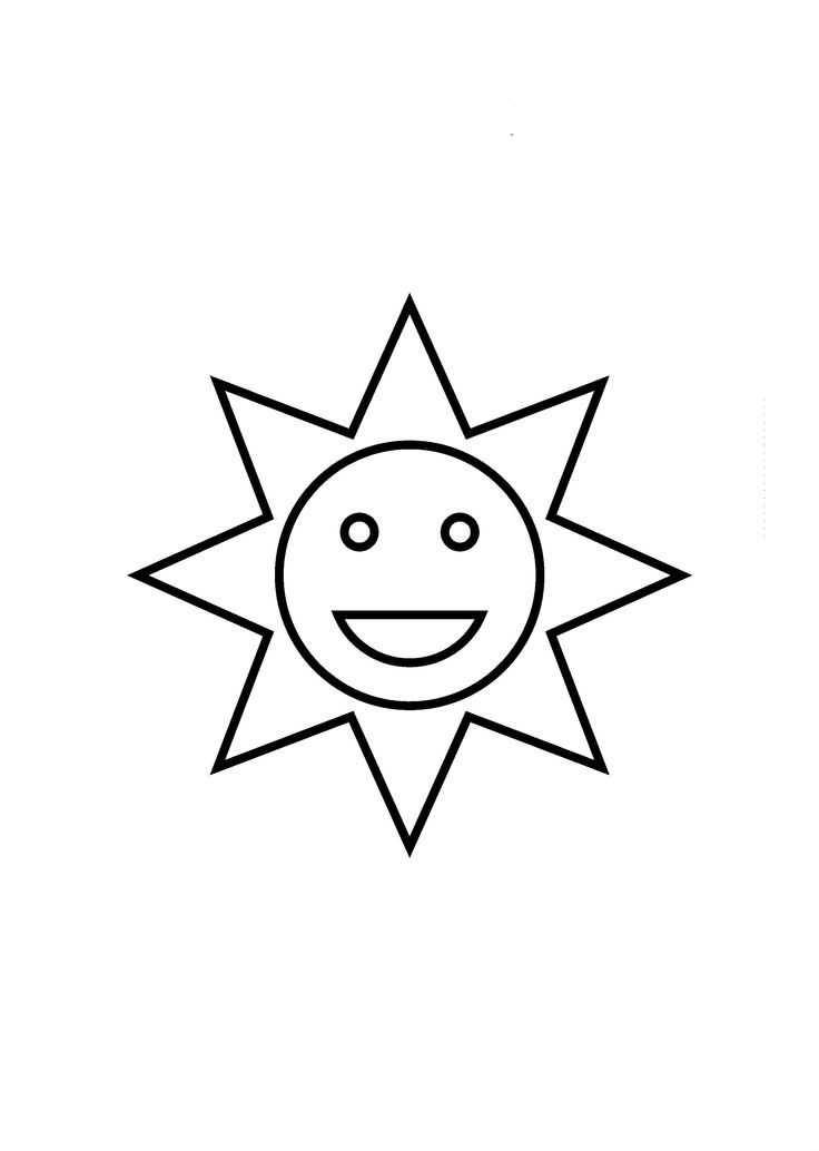 Laughing Sun Shapes