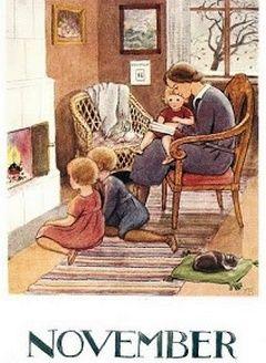 November ~ Elsa Beskow ~ Amazing illustrator & children's book author