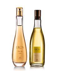 Kit Natura Ekos - Desodorante Colônia Flor do Luar + Desodorante Colônia Frescor Maracujá