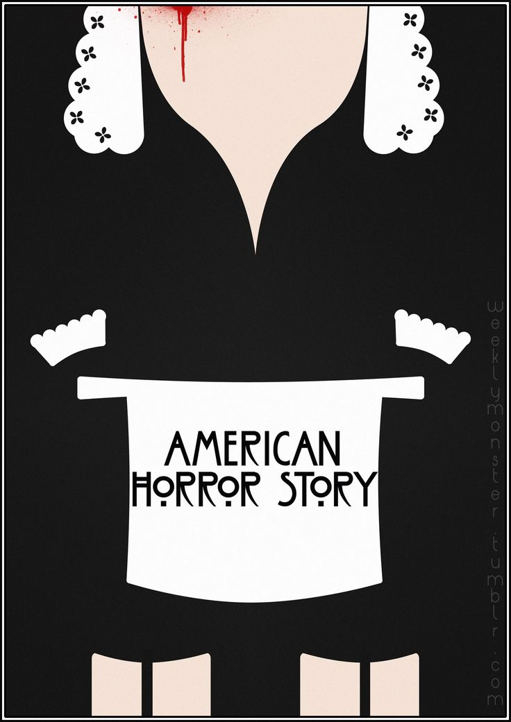 American Horror Story: Murder House aka Season 1 (fan art). This show has redefined tv and raised the bar.