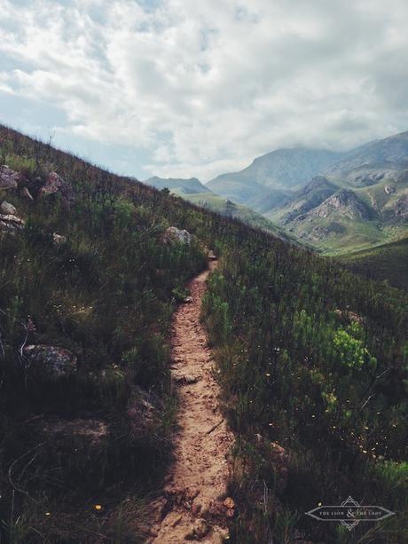Trail above Greyton ...