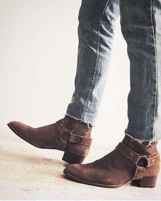 Saint Laurent Boots Preacher Styles Step ステップ