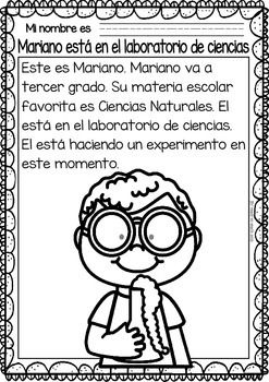 Easy-Reading-for-Reading-Comprehension-in-Spanish-spec-edit-Subjects-2115709 Teaching Resources - TeachersPayTeachers.com