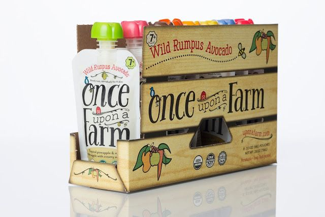 Agency: BexBrands: Project Type: Produced, Commercial Work: Client: Once Upon a Farm: Location: San Diego, USA: Packaging Contents: Baby Food: Packaging Materials: Plastic, Paper