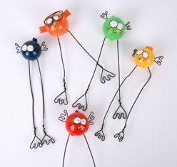 Dekofiguren figuren basteln mit kindern basteln mit for Gartendeko mit kindern basteln