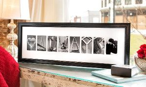 Groupon - C$ 40 for C$100 Worth of Custom Framed Letter Art from Frame The Alphabet in [missing {{location}} value]. Groupon deal price: C$40