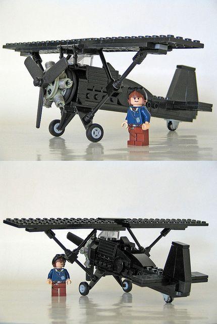 "JL-151 ""Black Baron"" #flickr #plane #LEGO"