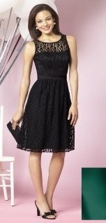 After Six Style 6631 Bridesmaid Dress in black