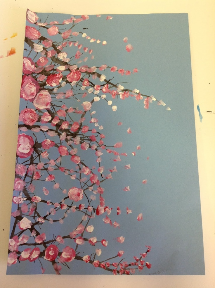 Cherry Blossom Branches From Color It Like You Mean It