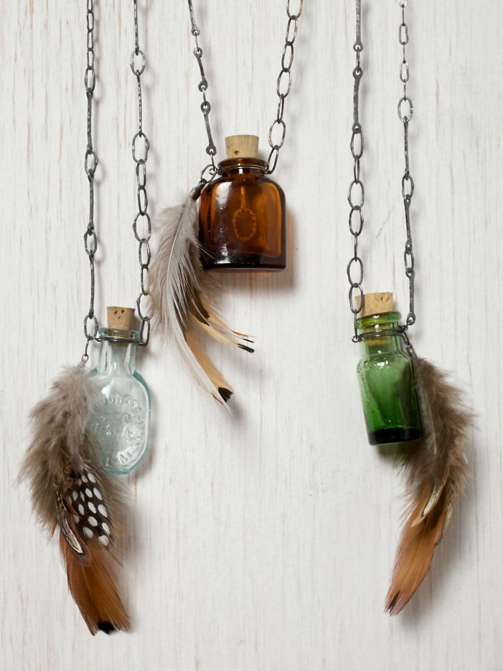 labeled as mini witch bottles...cool enough ...could also be used for perfume,essential oils, etc:-)
