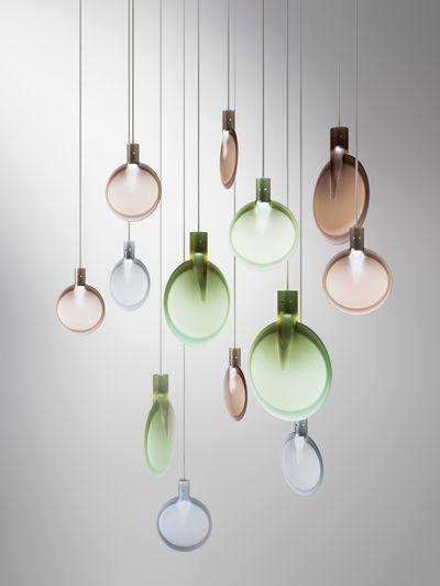 Nebra by Sebastian Herkner for FontanaArte #lighting #design