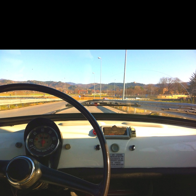 Going around with a mith.. Fiat 500 of 1973
