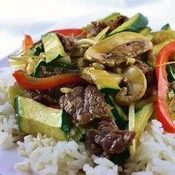 Asian Beef with Snow Peas - Allrecipes.com