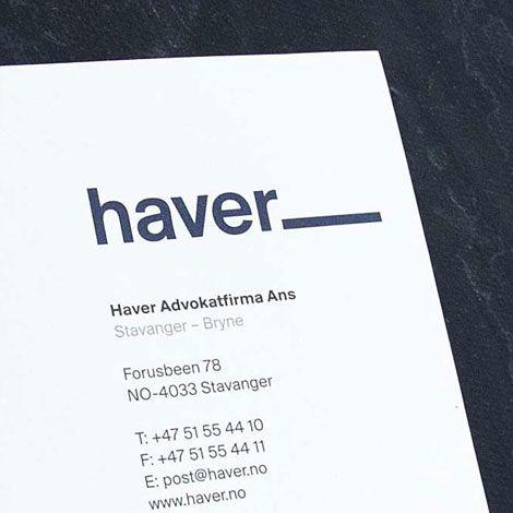 Haver: Profilerte advokater - Fasett