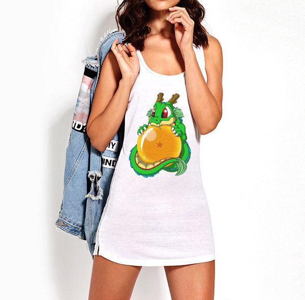 Vestido Camiseta Dragon Ball Sheron Baby Bola Magica de SportShirtFactory en…
