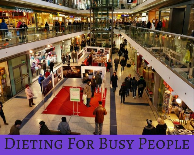 Dieting For Busy People #thehealthythings