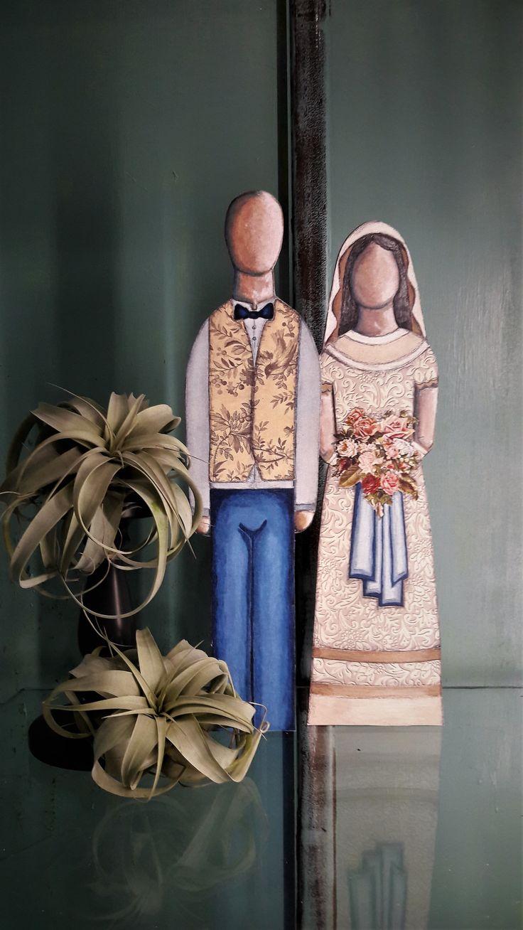 bride, groom, wedding, wooden, prints,