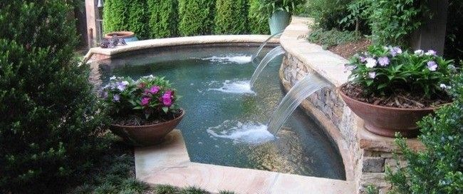 Pool Waterfall Ideas You Can Recreate In Your Backyard My Decor Home Decor Ideas Pool Waterfall Pool Water Features Backyard