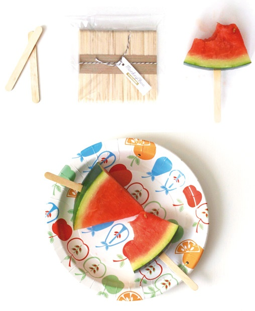 #Watermelon #sticks clever idea for a #healthy and easy to handle, alternative