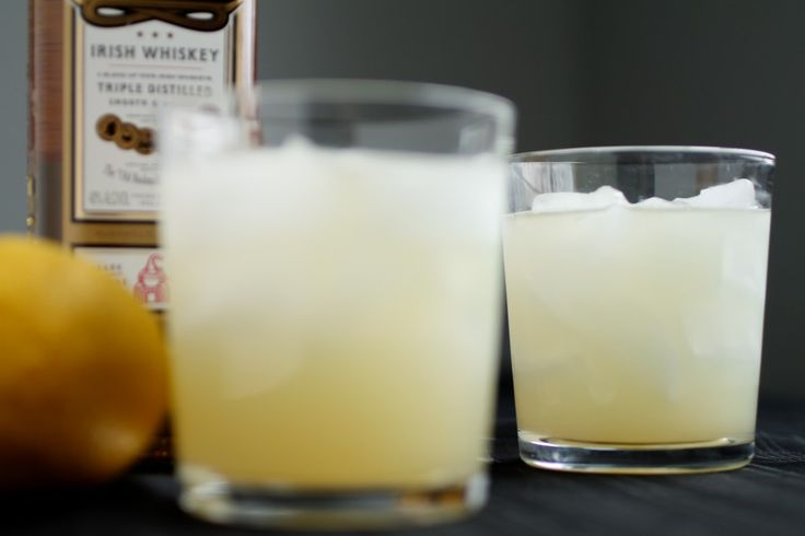 Sweet Whiskey Lemonade  2 oz triple sec   2 oz whiskey   1 and 1/2 oz lemon juice  2/3 oz lime juice  1 tsp. granulated sugar (super fine sugar is best, but regular baking sugar will do)  1/2 tsp. apricot preserves  3 oz. tonic water    1. In a shaker, combine all ingredients except tonic water with ice and shake well. Fill two glasses with ice and strain half of the drink mixture into each glass.  2. Top each glass off with 1 and 1/2 ounces of tonic water. Serve immediately.