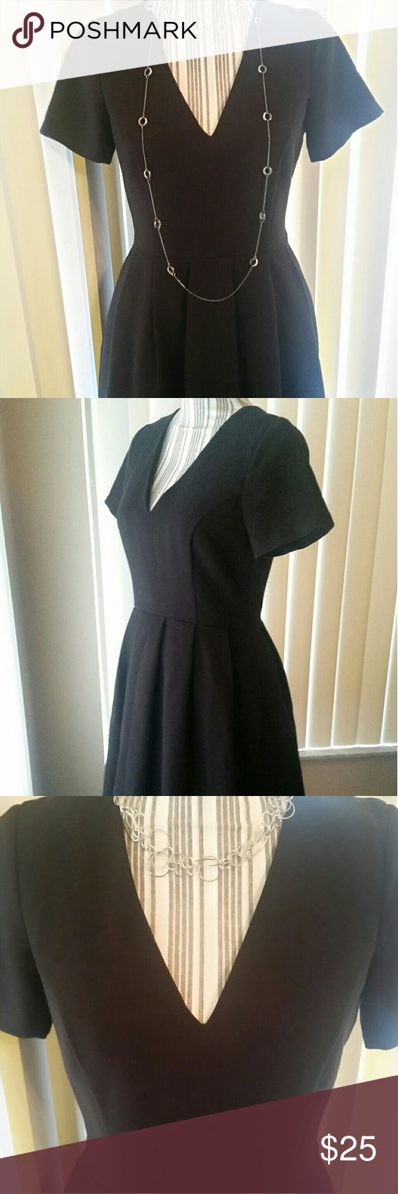 Dress Little black dress. Great condition. No stains or signs of wear. Zips in back. Full skirt. ASOS Dresses Midi