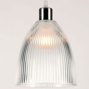 Linea Verdace Diva Transparent Glass Ceiling Pendant