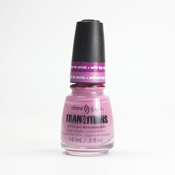 China Glaze Split Perso-Nail-Ity sur Bec et Ongles