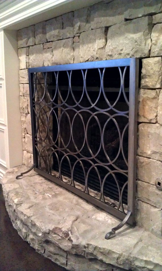 Fireplace Design metal fireplace screen : 128 best FIREPLACES - Screens and Accessories images on Pinterest