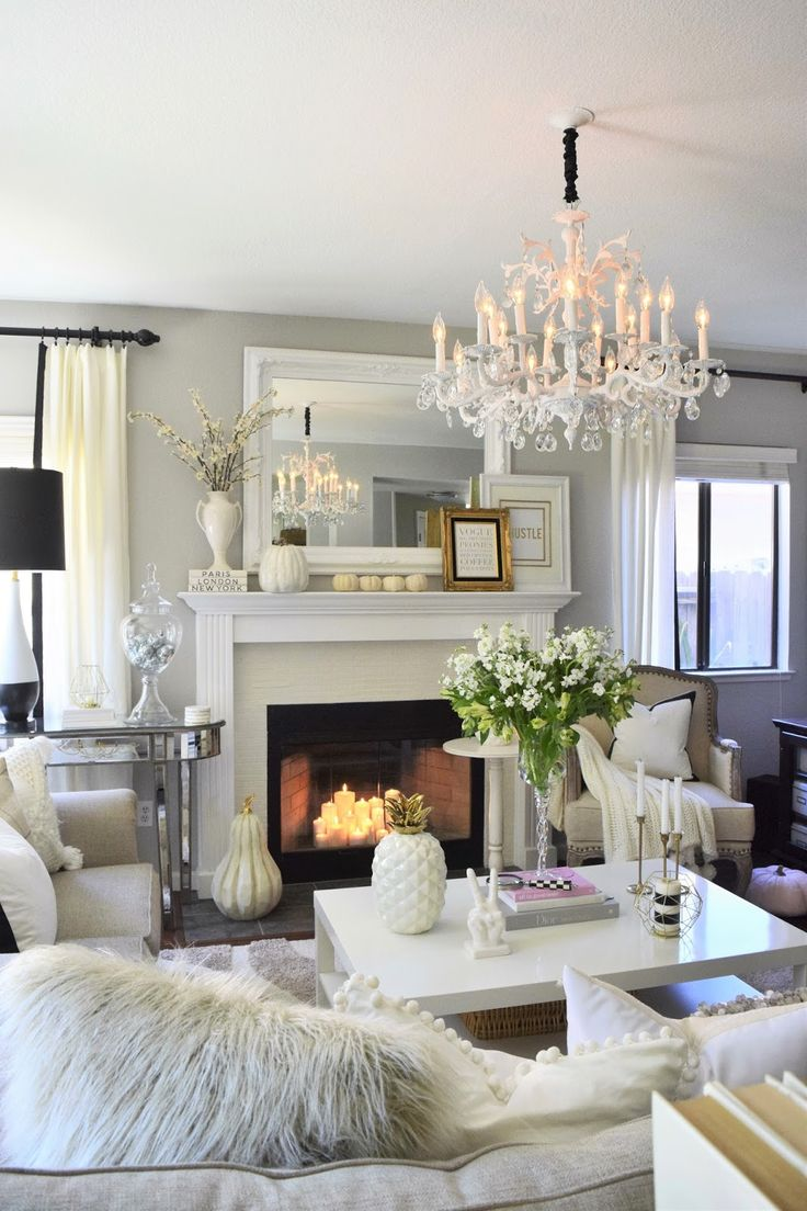 25 best ideas about glamorous living rooms on pinterest - Decorating living room ideas pinterest ...