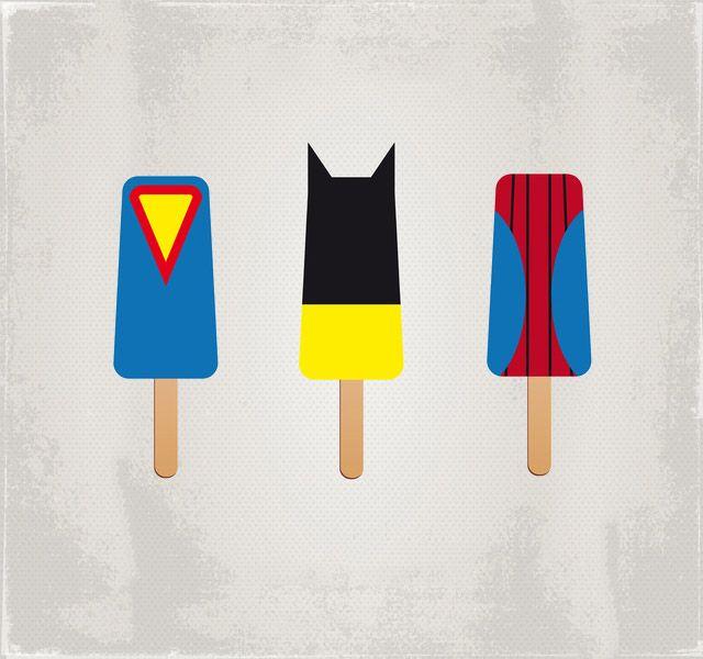 'Superhero Ice Pops Universe' by Chungkong