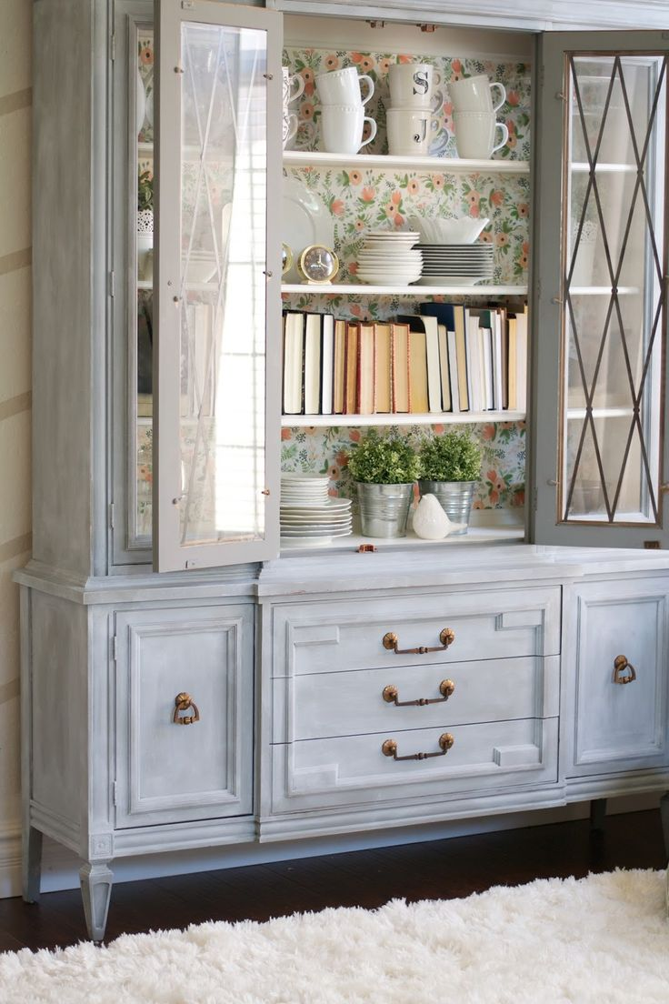 25 best painted hutch ideas on pinterest hutch makeover chalk paint powder hutch makeover