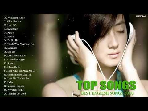 BEST ENGLISH SONGS 2018 HITS - Acoustic Popular Songs 2018