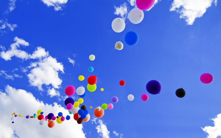 Colorful Balloons Wallpapers 10