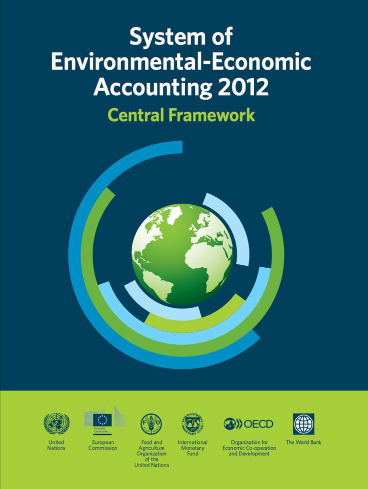 United Nations European Union Food and Agriculture Organization of the United Nations International Monetary Fund Organisation for Economic Co-operation and Development The World Bank. 2014. , System of Environmental-Economic Accounting  2012 Central Framework. eISBN: 978-92-1-055926-3