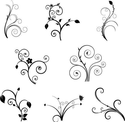 simple swirl design - Google Search