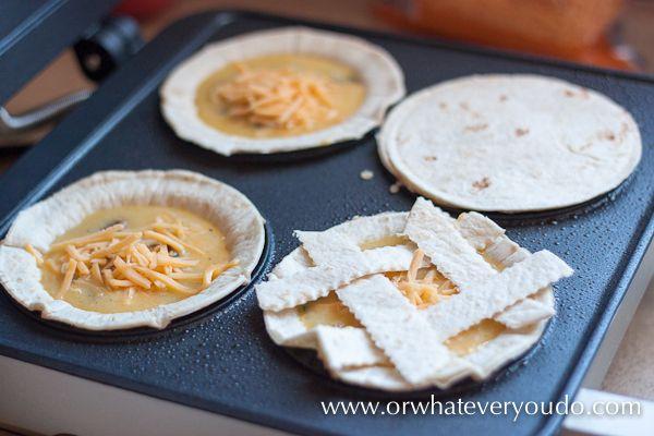 Mini Quiche in your #Breville Mini Pie Maker #Quiche #breakfast