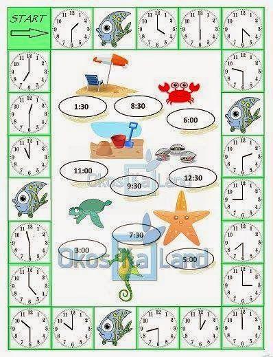 Játékos tanulás és kreativitás: Hány óra van? 2.