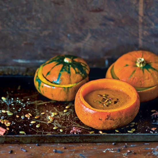 Pumpkin-Coconut Bisque Recipe - Food and Recipes - Mother Earth Living