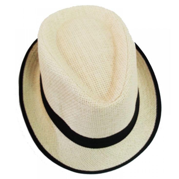 Gangster Style Hat-Black