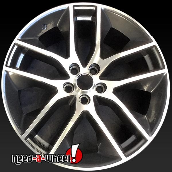 "2015-2017 Ford Mustang oem wheels for sale. 20"" Machined stock rims 10039 https://www.need-a-wheel.com/rim-shop/20-ford-mustang-oem-wheels-rims-machined-10039/, , #oemwheels, #factorywheels"