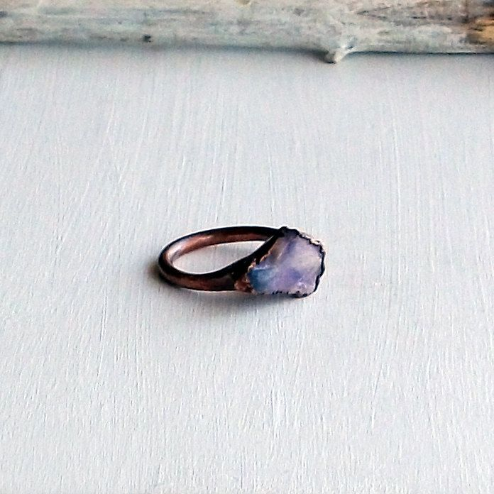 Opal ring by MidwestAlchemy. I so so want this