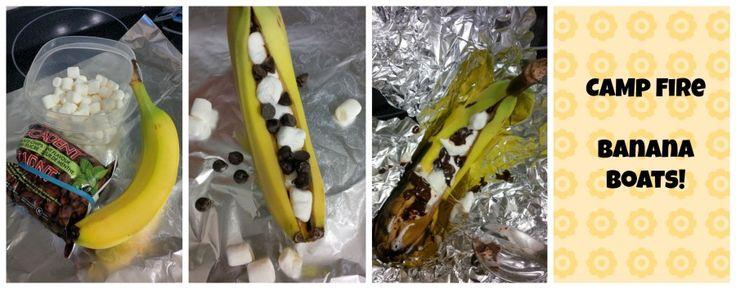 Campfire Banana Boats - Super Yummy and Easy - Thinking Outside The Sandbox Family DIY, Recipes, Autism, Kids