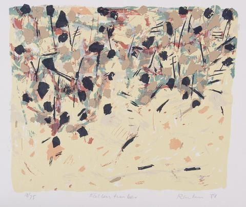 David Rankin 'Fallen Timber' - screenprint on paper